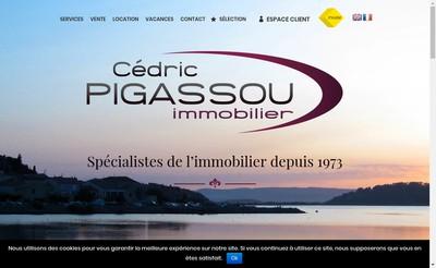 Site internet de Agence Pigassou