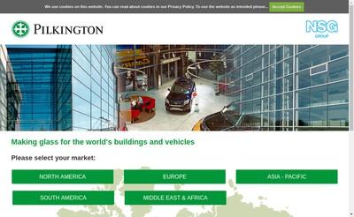 Site internet de Pilkington Holdings