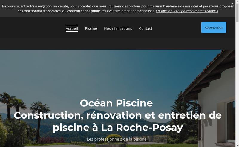 Capture d'écran du site de Etablissements Porcheron