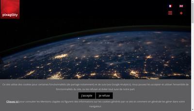 Site internet de Pixagility