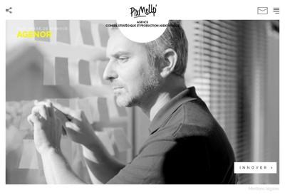 Site internet de Pix Me Up Studio