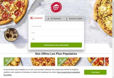 Site internet de Pizza Hut
