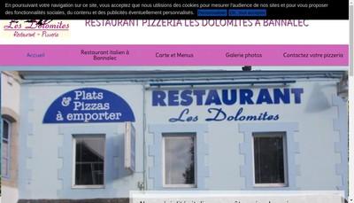 Site internet de Les Dolomites