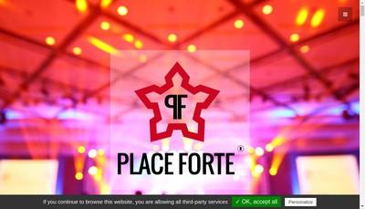 Site internet de Place Forte