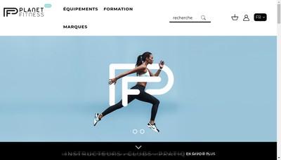 Site internet de Planet Fitness