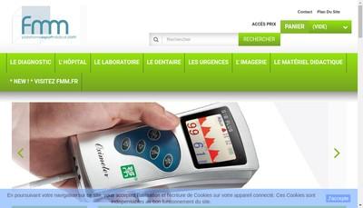 Site internet de Les Fabricants de Materiel Medical FMM