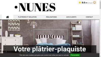 Site internet de Nunes