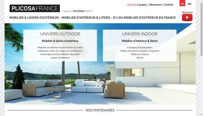 Site internet de Plicosa France