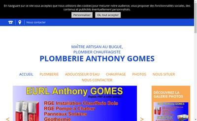 Site internet de Etablissements Gomes