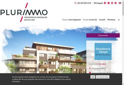 Site internet de Plurimmo