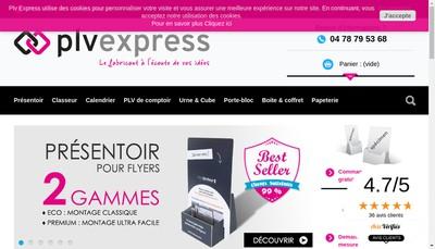 Site internet de Plv Express