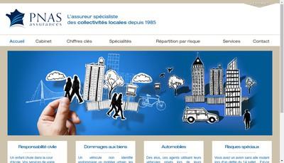 Site internet de Paris Nord Assurances Services