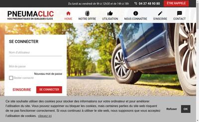 Site internet de Pneumaclic
