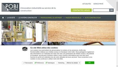 Site internet de Groupe Jacob