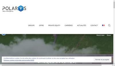Site internet de Polarys