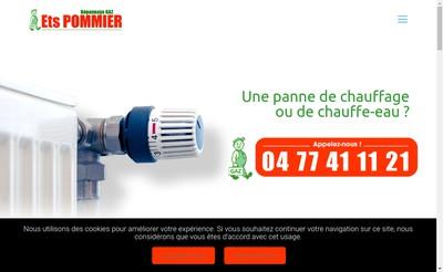Site internet de Pommier