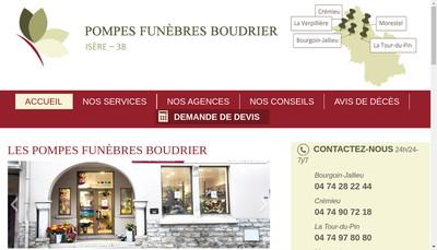 Site internet de Espace Funeraire Boudrier