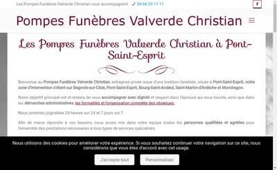 Site internet de Pf Valverde Christian