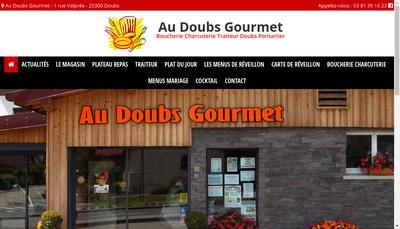 Site internet de Au Doubs Gourmet