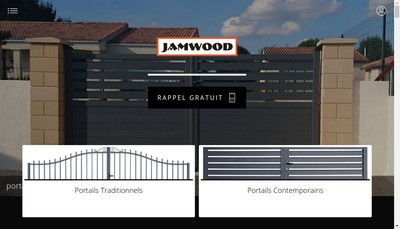 Site internet de Jamwood