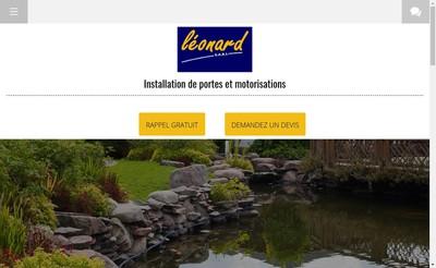 Site internet de SARL Leonard