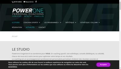 Site internet de Power One