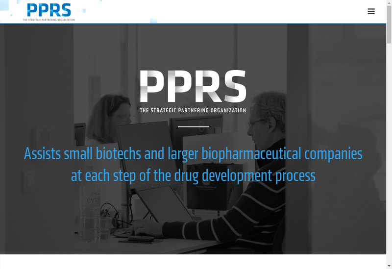Capture d'écran du site de Pprs