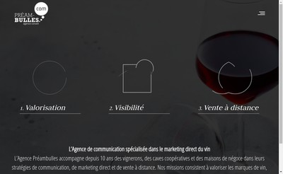 Site internet de Preambulles