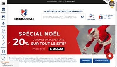 Site internet de E-Precisionsport Fr