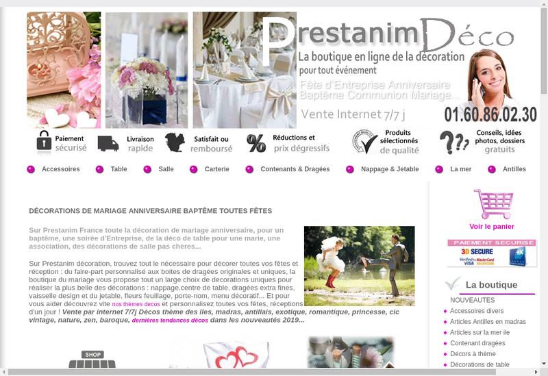 Site internet de Id-Decos