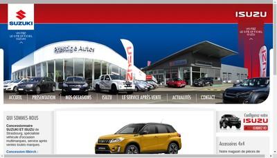 Site internet de Opel Illkirch