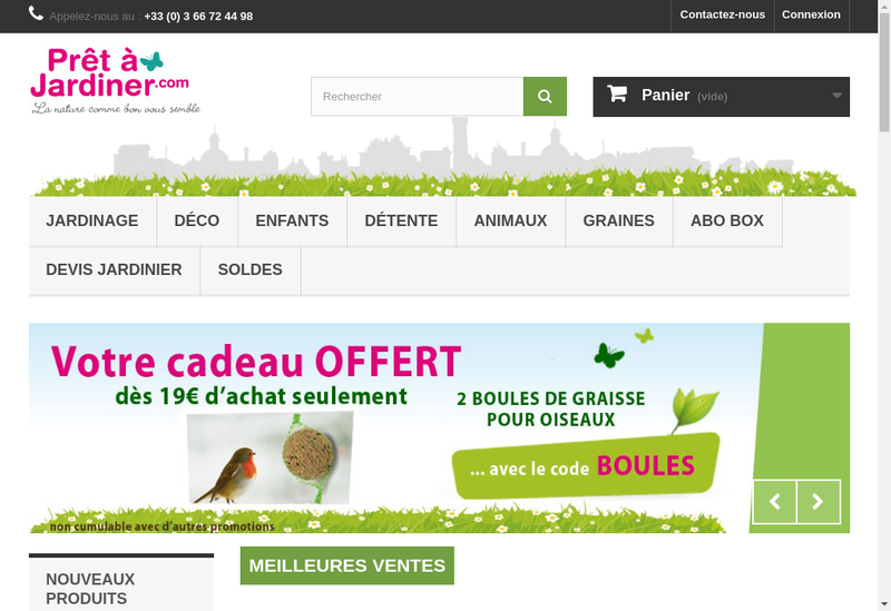 Capture d'écran du site de Floretbois