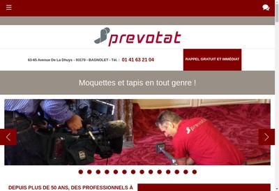 Site internet de H Prevotat et Cie