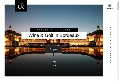Site internet de Private Golf Key
