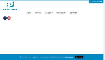 Site internet de Profilmar
