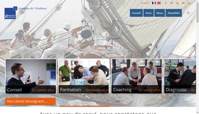 Site internet de Progress Partners