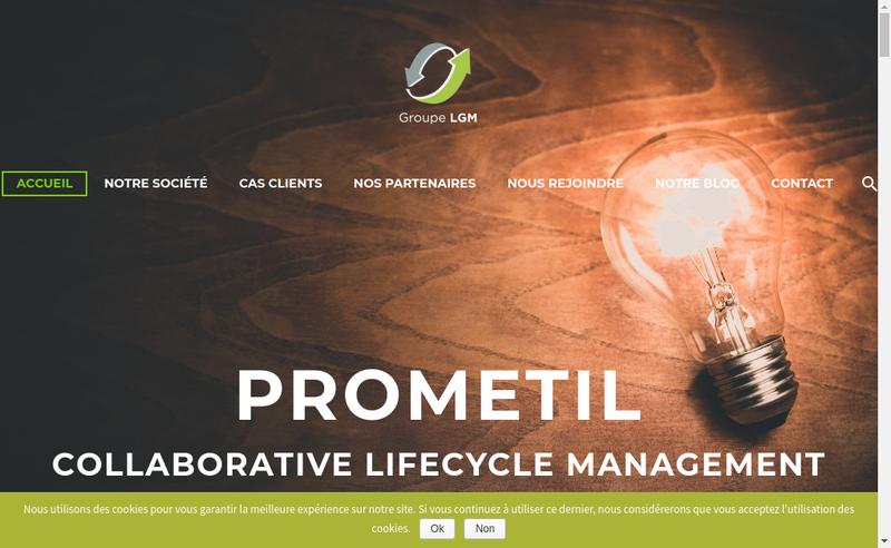 Capture d'écran du site de Onelight - Studio