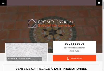 Site internet de Promo'Carreau