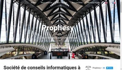 Site internet de Prophesy