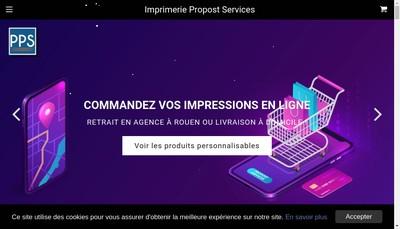 Site internet de Propost Services