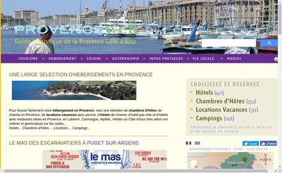Site internet de Provenceweb