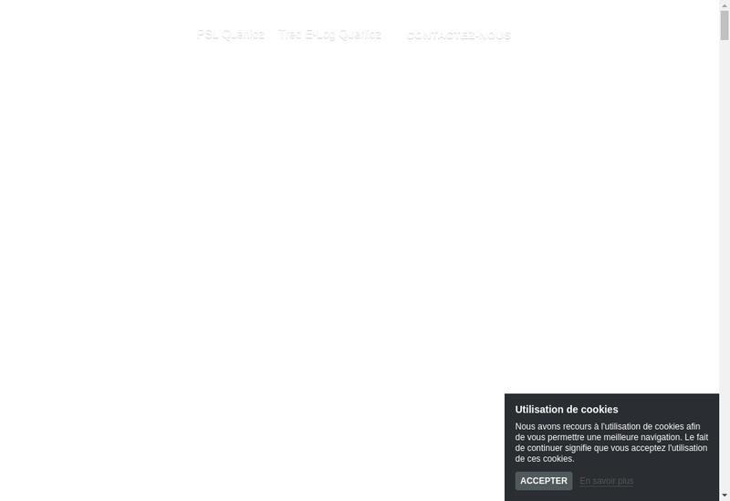 Capture d'écran du site de Ced-Psl Querlioz
