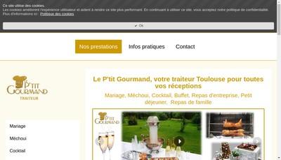Site internet de Le P'Tit Gourmand