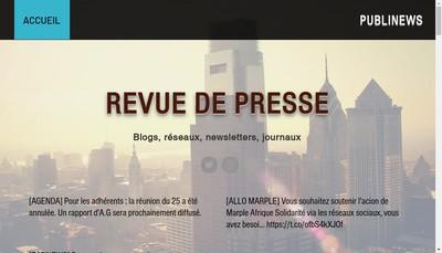 Site internet de Philippe-Michel Reclus