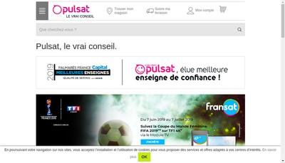 Site internet de Pulsat