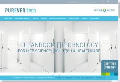 Site internet de Purever Tech
