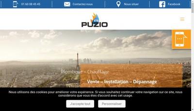 Site internet de SARL Etablissements Puzio Jc