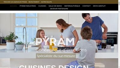 Site internet de Pyram Industries