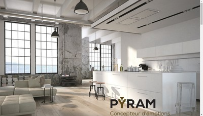 Site internet de Pyram Industries