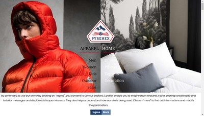 Site internet de Pyrenex